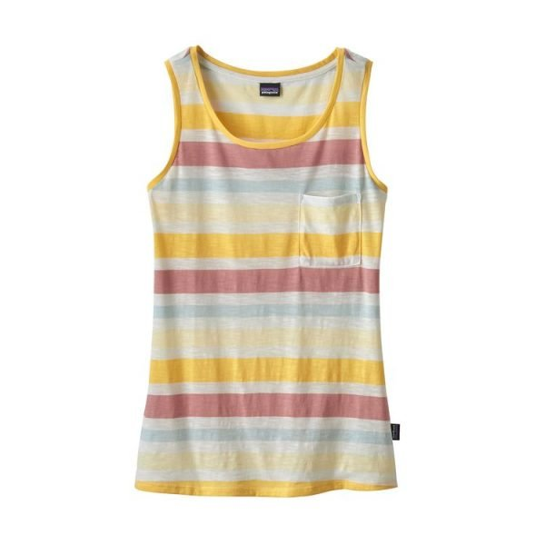 Patagonia Women's Mainstay Tank Top canotta ragazza righe colorate