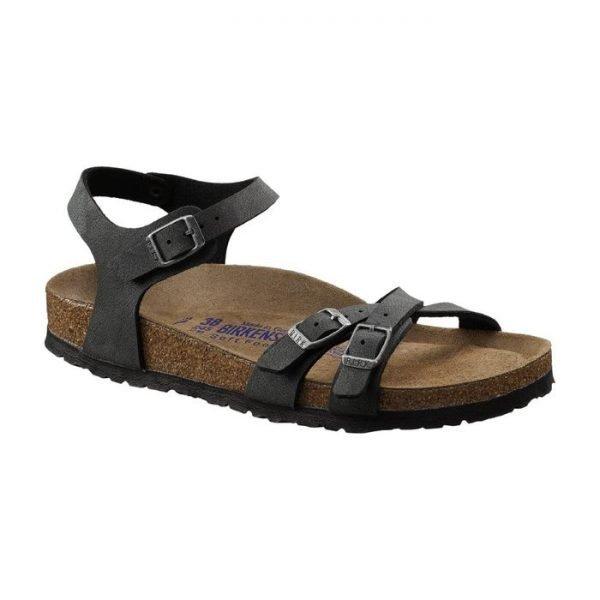 Sandalo donna Birkestock Kumba nero