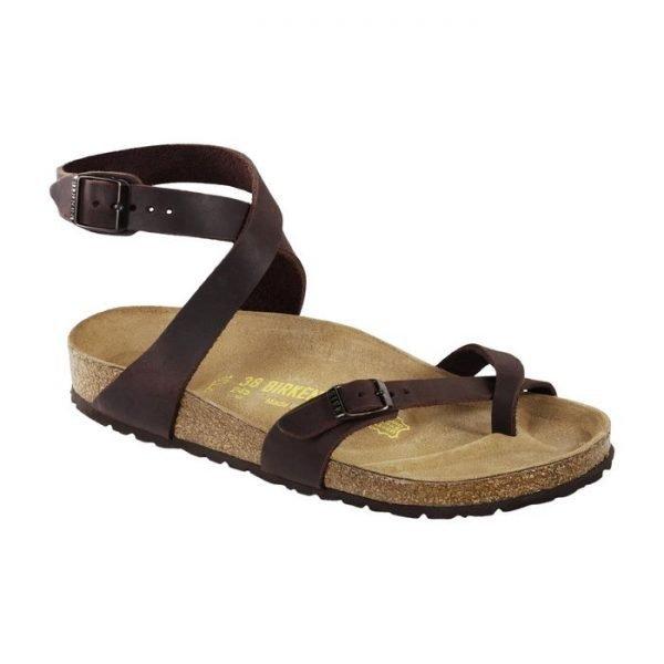 Sandalo donna intrecciato Birkenstock Yara