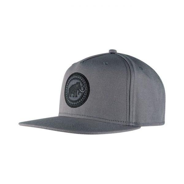 Mammut Massone Cap cappellino logo mammut grigio