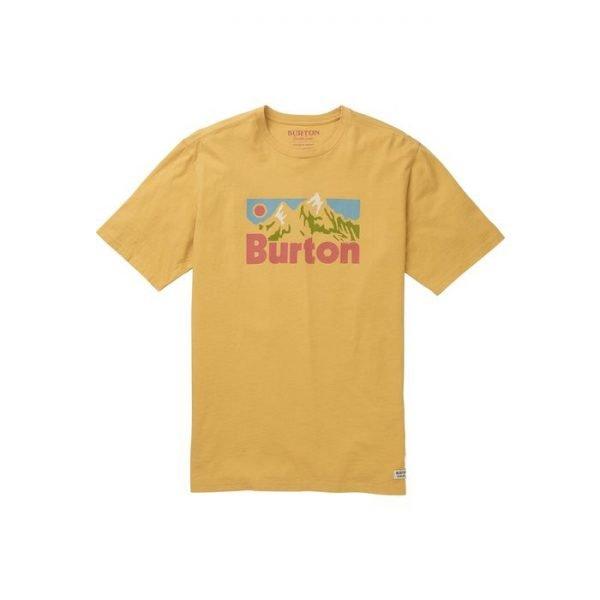 Men's Burton Friston T-Shirt maglietta ragazzo gialla