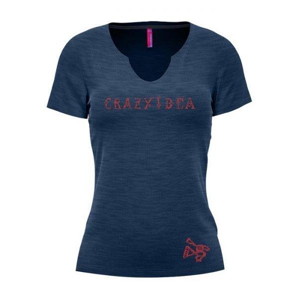Crazy Idea T-Shirt Visual Woman maglietta cotone donna ragazza