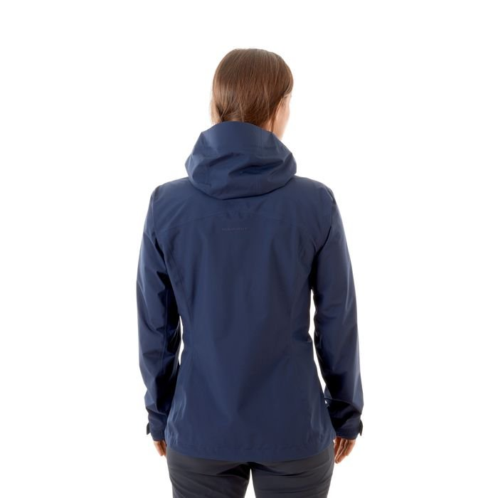 Giacca Mammut Convey Tour Hs Hooded jacket women peacot