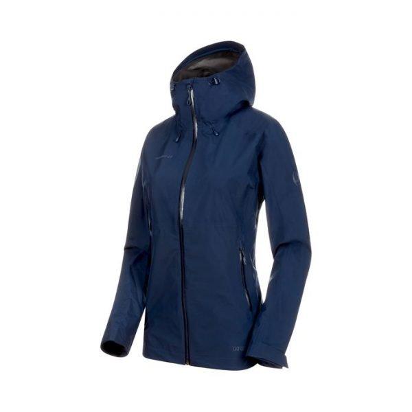 Giacca Mammut Convey Tour Hs Hooded jacket women guscio femminile blu