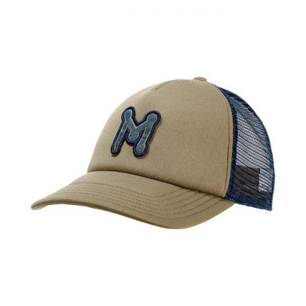 Mammut Crag Cap cappellino verde blu
