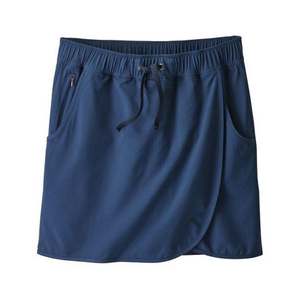 Patagonia Women's Fleetwith Skort gonna pantalocino donna blu
