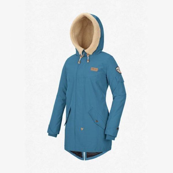 giacca sci snowboard e tempo libero da ragazza blu petrolio