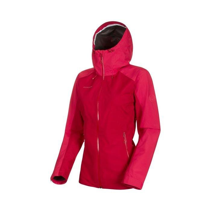 giacca guscio femminile da montagna ed escursionismo