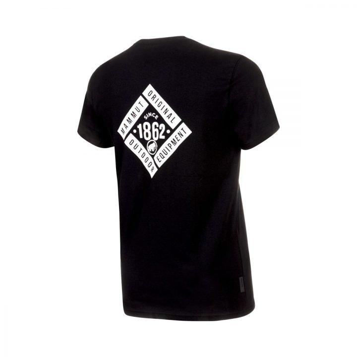 Mammut T-shirt Uomo Seile t-shirt ragazzo mammut logo nera