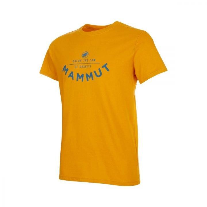 Mammut T-shirt Uomo Seile maglietta mammut uomo gialla