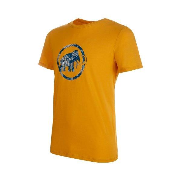 Mammut Logo T-shirt Men maglietta logo mammut uomo ragazzo gialla