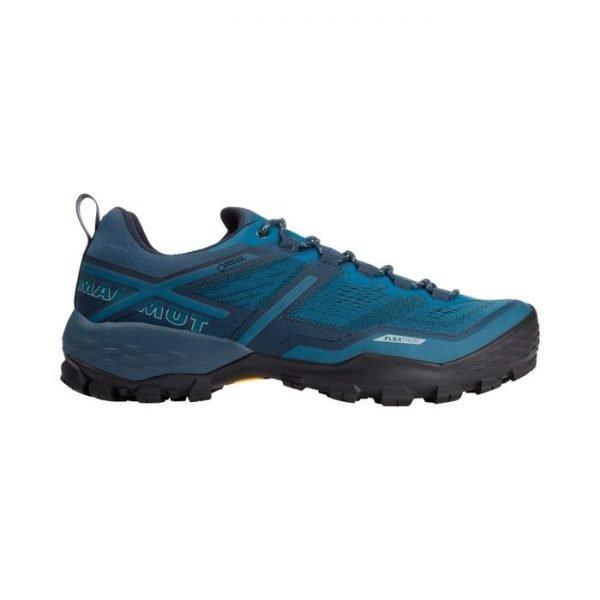 Scarpa Mammut Ducan Low GTX Men scarpa da trekking uomo blu