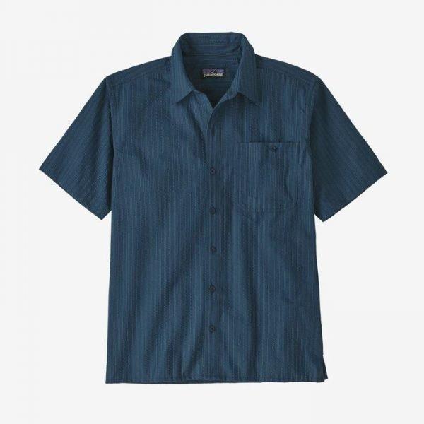 Patagonia Men's Puckerwar Shirt camiciotto estivo uomo non stirare