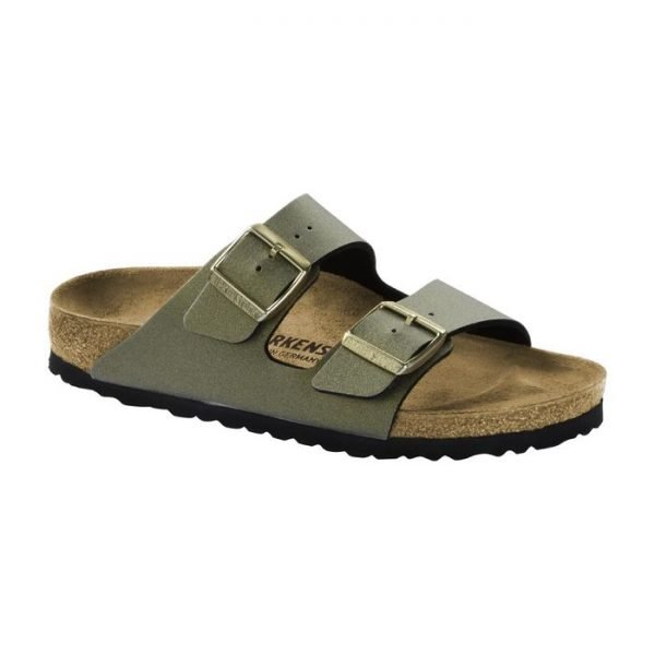 Birkenstock Sandalo Arizona BS Metallic stone gold