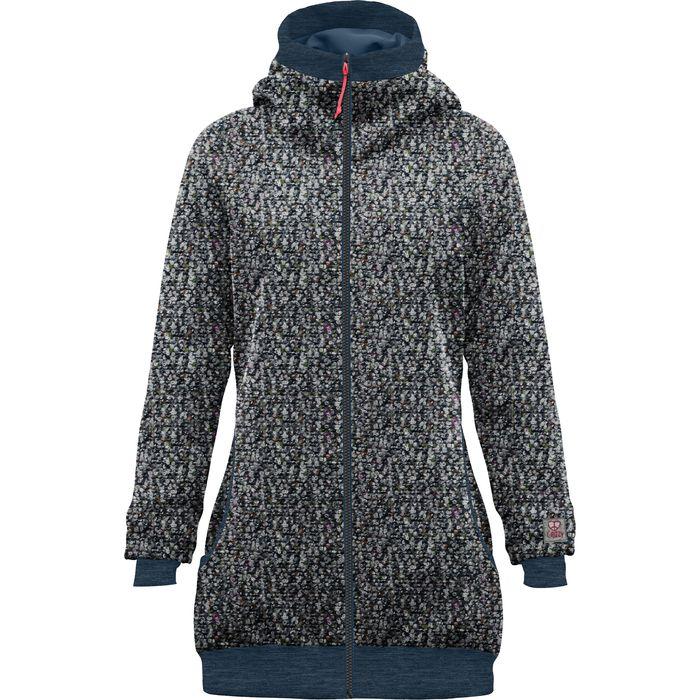 Crazy Idea Coat Siurana Woman blue