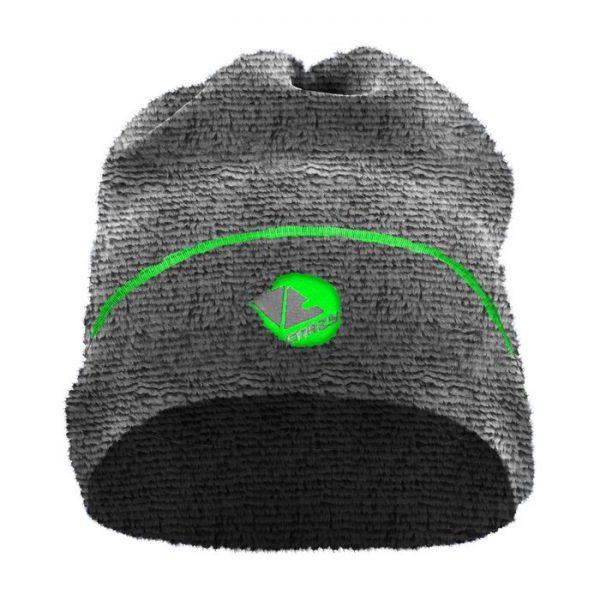 scalda collo cappello in morbido pile orsetto grigio