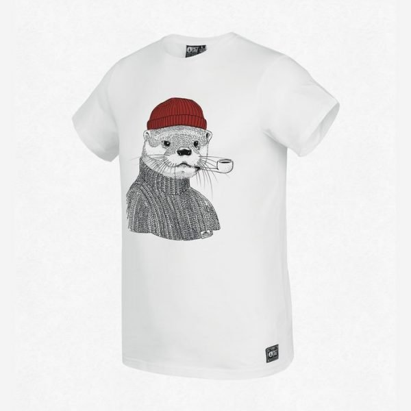 Picture Lazy T-shirt lontra pescatore