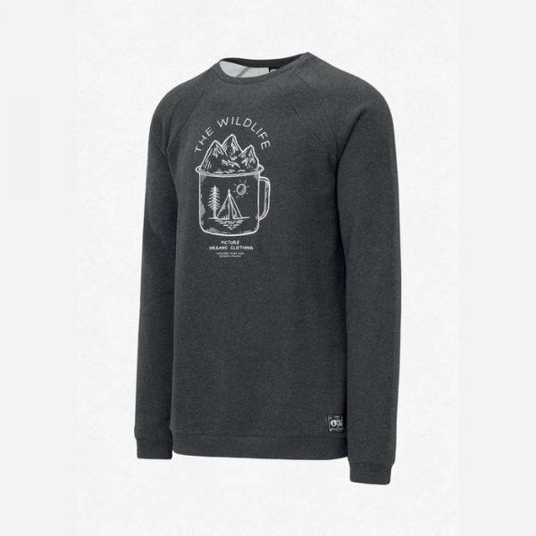 Picture organic clothing felpa uomo girocollo Lifer