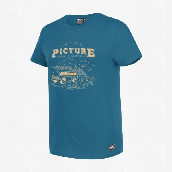 Picture Lifestyle Tee petrol blue