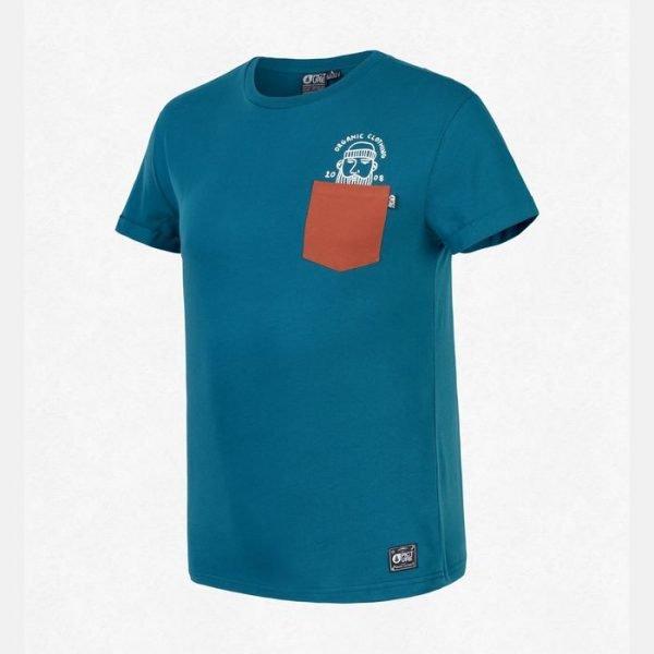 Picture Organic Clothing Timber T-shirt maglietta uomo ragazzo blu