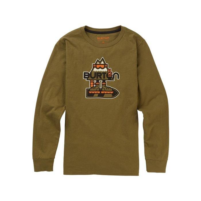 Kids' Hobbes Long Sleeve T-Shirt manica lunga ragazzo bimbo snowboard
