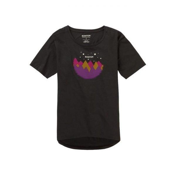 Women's Burton Ashmore Short Sleeve Scoop T-Shirt maglietta donna ragaza