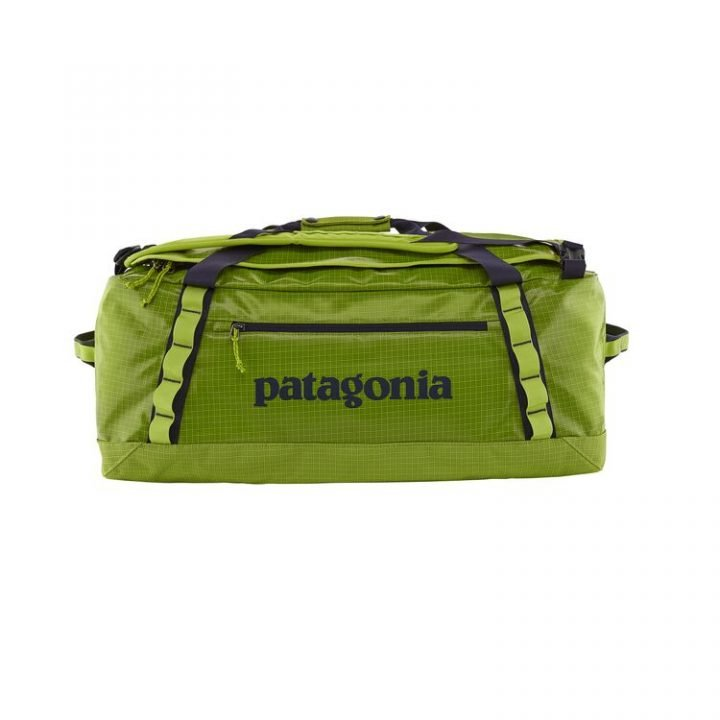 Patagonia Black Hole Duffel Bag 55L pepper green verde acceso