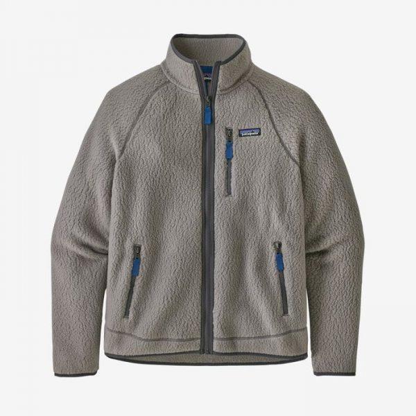 Patagonia Men's Retro Pile Fleece Jacket pile orsetto retrò uomo grigio