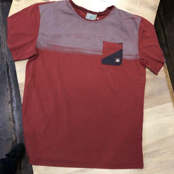 E9 Clothing T-shirt T-stripe