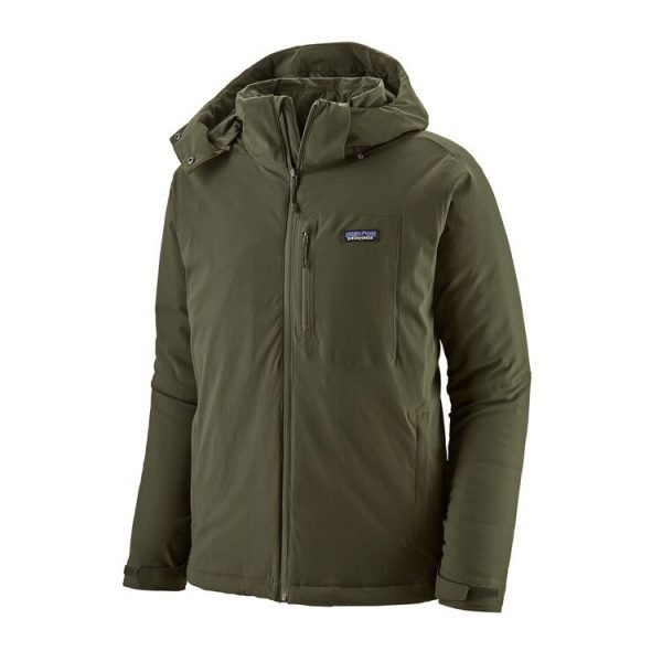 Patagonia Men's Insulated Quandary Jacket cappotto uomo verdone