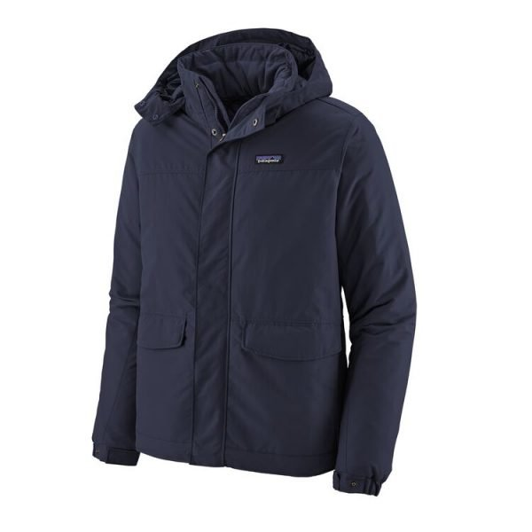 Patagonia Men's Isthmus Parka giacca uomo maschile blu