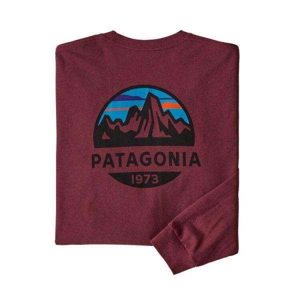 Patagonia Men's Long-Sleeved Fitz Roy Scope Responsibili-Tee