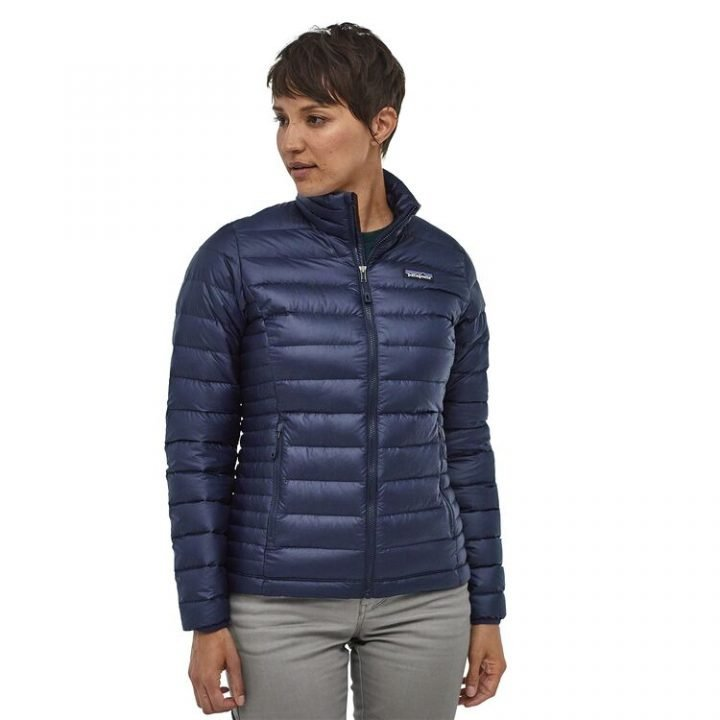 Patagonia Women's Down Sweater Jacket piumino donna blu