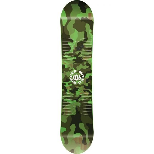 snowboard da bambino ragazzino verde