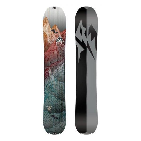 snowboard da uomo divisibile per lo sci alpinismo