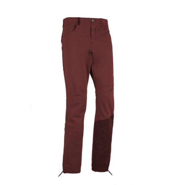 Enove Mont1 Pantalone uomo arrampicata rosso