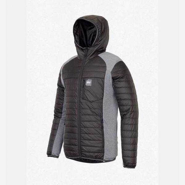 picture organic clothing giacca sotto guscio elastica e calda uomo