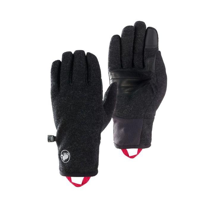 caldi guanti da tempo libero sci alpinismo neri