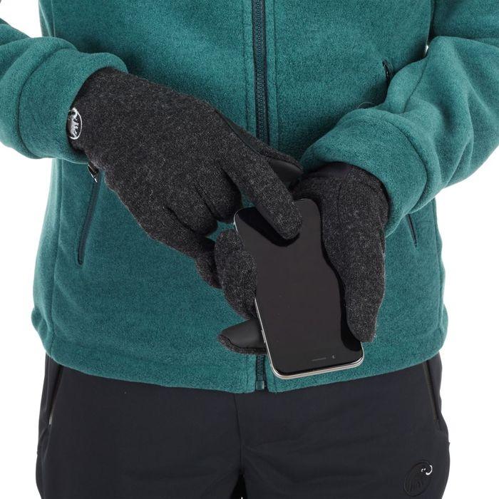 guanti in lana e pile da città e sci