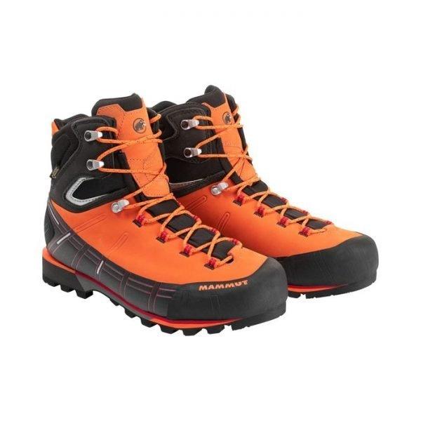 Mammut Kento High GORE-TEX scarponi da alpinismo montagna maschili arancioni