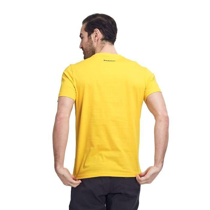 Mammut T-shirt Uomo Seile gialla