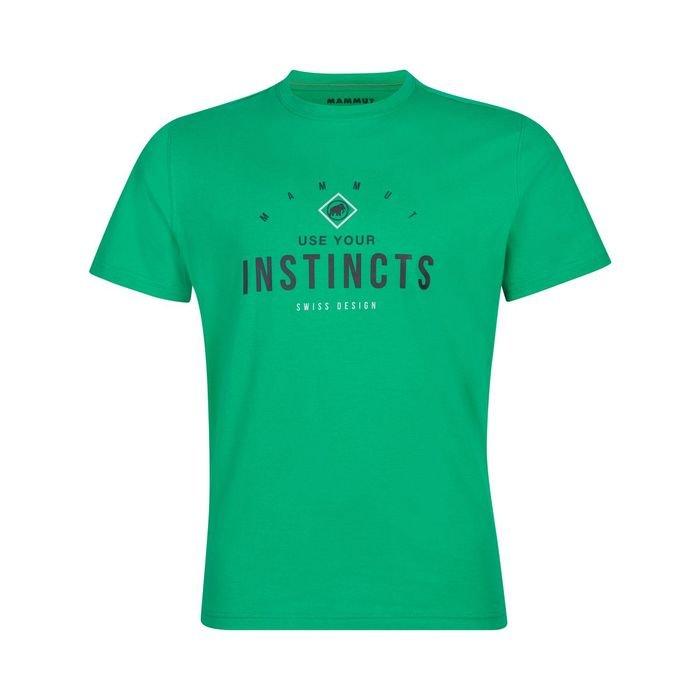 Mammut T-shirt Uomo Seile verde