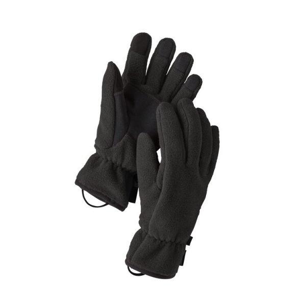 guanti in pile medi invernali da uomo e donna
