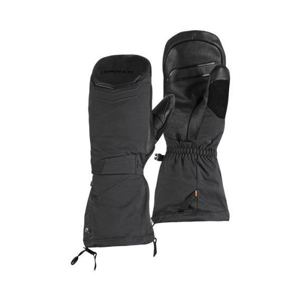 Mammut guanti Scalottas 2 in 1 Mitten moffole maschili sci freeride