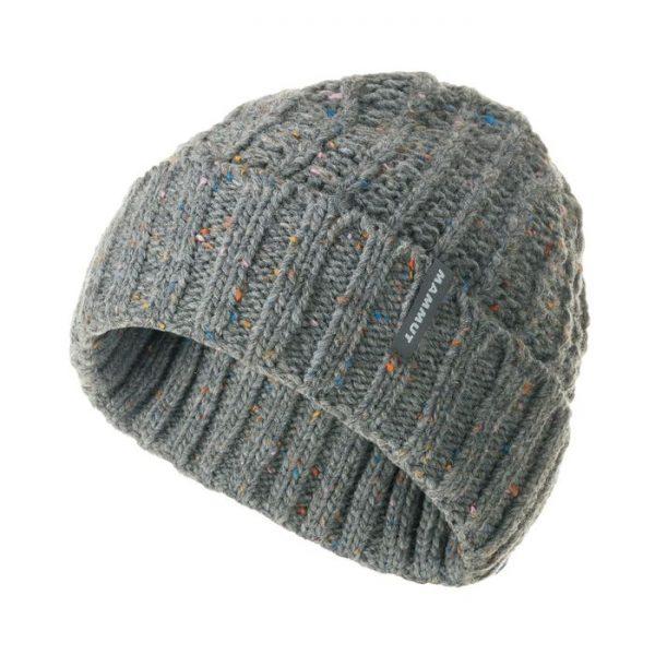 Mammut Chamuera Beanie berretto cappellino invernale grigio