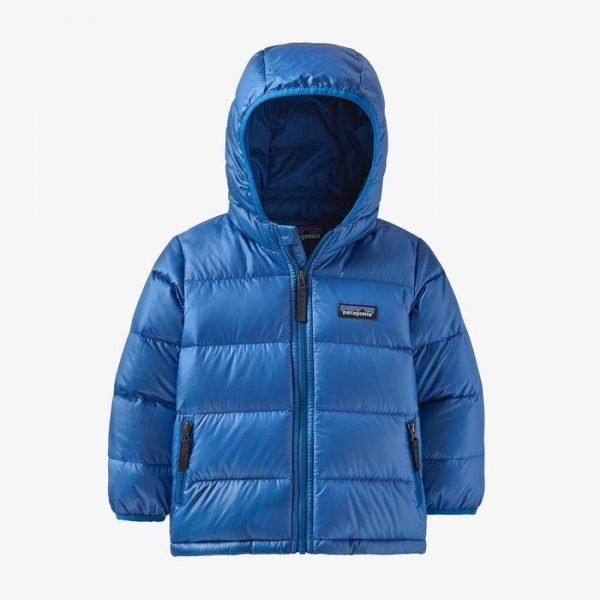 Patagonia Baby Hi-Loft Down Sweater Hoody piumino giacca bambino bimbo
