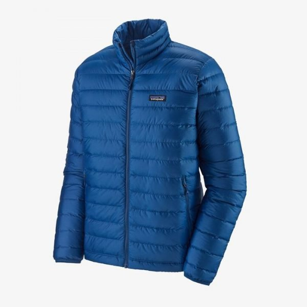 Patagonia Men's Down Sweater Jacket piumino uomo blu