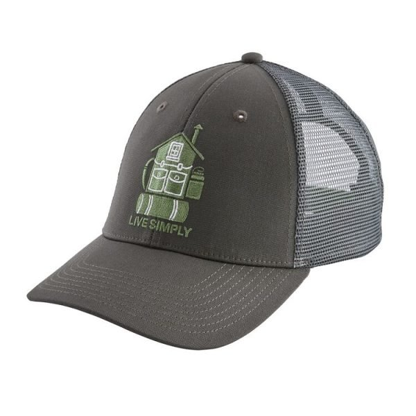 Patagonia Live Simply® Home LoPro Trucker Hat cappellino casa zainetto