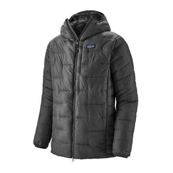 Patagonia Men's Macro Puff® Hoody forge grey piuminoi sintetico caldo uomo maschile grigio