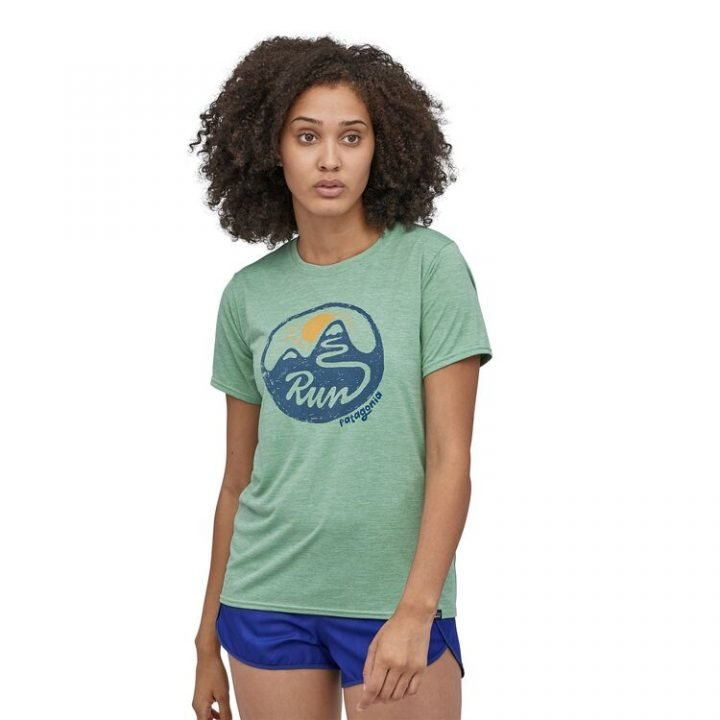 Patagonia Women's Capilene Cool Daily Graphic Shirt switchback run